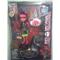 Monster High Howleen Wolf 13 Deseos Draculaura Gigi Mascota
