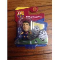Suarez Soccer Starz Barcelona Futbol Cabezon Soccerstarz