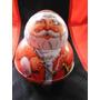 Figura Metalica Santa Claus 1980 Vintage Navidad Christmas