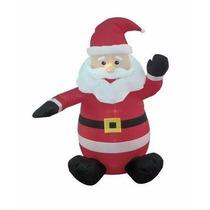 Inflable Navideño Santa Claus Decoracion Exterior 4 Pies