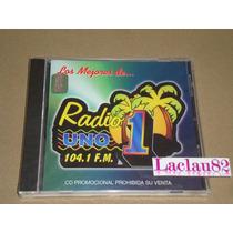 Radio Uno 104.1 Fm Mcm Cd Nuevo Mojado Banda Zeta Iridian