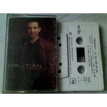 Audio Cassette Cristian Lo Mejor De Mi