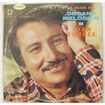 Juan Torres Lo Mejor Del Organo Melodico 3 Discos Lp