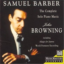 Samuel Barber - Complete Piano Music Cd Clasica Mp0
