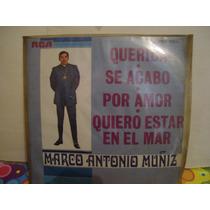 Marco Antonio Muñiz Lp 45 Rmp Querida