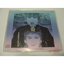 The Beatles George Harrison: When We Was Fab Cd Single