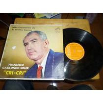 Disco Vinil Lp Mas Canciones De El Grillito Cantor