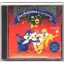 Las Ardillitas De Lalo Guerrero Cd Regalo Musical 1990