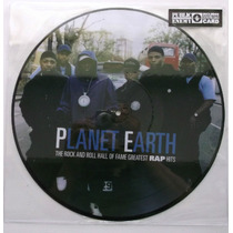 Public Enemy - Planet Earth Lp Fotodisco Rap Flavor Hip Hop