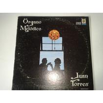 Lp Organo Melodico Juan Torres Album Triple Pm0