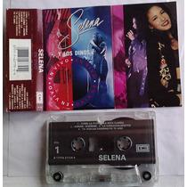 Selena Y Los Dinos En Vivo Cassette Rarisimo Nacional 1993