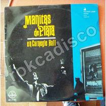 Españoles, Manita De Plata, En Carnegie Hall, Lp 12´,