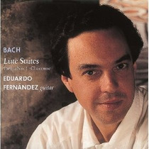 Eduardo Fernandez - Bach Lute Suites Cd Clasica Guitarra