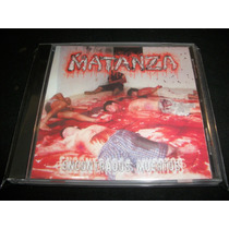 Matanza - Encontrados Muertos - Cd Brutal Death Metal Mexico
