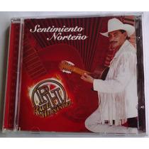 Raul Hernandez Sentimiento Norteño Cd Rarisimo 1a Ed 1998
