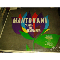 Disco Acetato De Mantovani, Songs To Remember