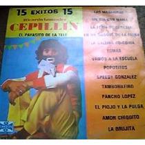 Disco Acetato De 15 Exitos De Cepillin