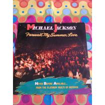 Michael Jackson Lp Farewell My Summer Love 1984
