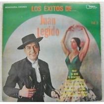 Juan Legido Los Exitos 1 Disco Lp Vinil