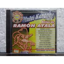 Cd Disco Compacto Multi Karaoke Éxitos De Ramón Ayala Nuevo