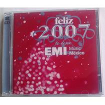 Feliz 2007 Cd Promo Doble Rbd, Belinda, Sussie 4,lucero,kika