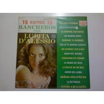 Lp Lupita Dalessio 15 Exitos Rancheros Pm0
