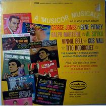 Musicor Lp Jazz Grace Jones Vinie Bell Gus Vali Al Soyka Op4