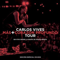 Mas + Corazon Profundo Tour / Carlos Vives / Cd + Dvd