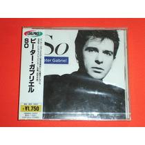 Peter Gabriel So Cd Album Japones Nuevo Cerrado Genesis Hm4