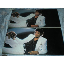 Disco Acetato Vinil Michael Jackson Thriller Lp