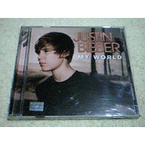 Cd Justin Bieber - My World - Cd Enhanced - Incluye Videos