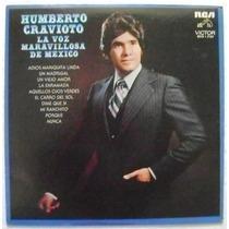 Humberto Cravioto La Voz De Mexico 1 Disco Lp Vinilo
