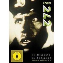 Dvd Original Front 242 Moments In Budapest Hungria Live 2010