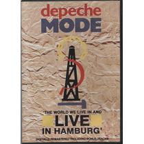 Dvd Original Depeche Mode The World We Live Live In Hamburgh