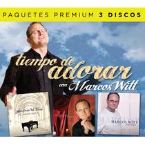Marcos Witt ( Tiempo De Adorar, 3 Discos) Música Cristiana