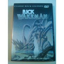 Rick Wakeman Classic Rock Legends Dvd Usado Importado Eu