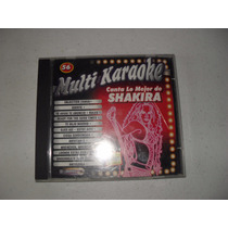 Shakira Multi Kareoke Cd 2002 Con Cancionero
