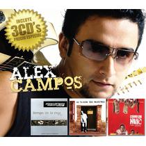 Alex Campos (tiempo De La Cruz, Al Taller Del, Como Un Niño)