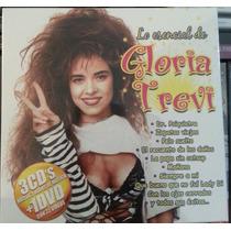 Lo Esencial De Gloria Trevi. 3 Cd´s + 1 Dvd. Nuevo
