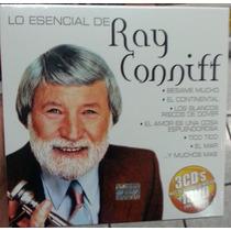 Lo Esencial De Ray Conniff. 3 Cd´s + 1 Dvd. Nuevo