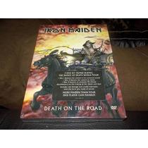 Iron Maiden Death On The Road 3dvd Digibook Nuevo Importado