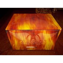 Aerosmith Box Of Fire 13 Cd Imp Usado No Maiden Ozzy Kiss