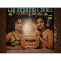 Disco Acetato: Hermanas Nuñez