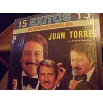 Lp Juan Torres.. 15 Exitos, Envio Gratis