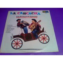 Disco Lp Los Broncos De Reynosa La Carcacha