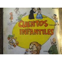Disco Acetato De: Cuentos Infantiles 3 Discos