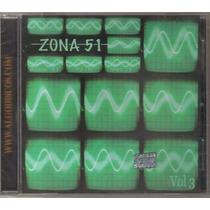 Zona 51 - Volumen 3 ( Compilado D Punk Rock Mexicano) Cd