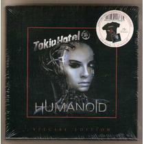 Tokio Hotel Box Fan Pack Special Editio Humanoid Cd+camiseta