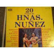 Disco Acetato De: Hermanas Nuñez