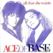 Ace Of Base Cd Single All That She Wants 1993 Sp0